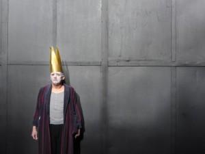 """Bernd Braun in """"Ansichten eines Clowns"""" © Thilo Beu"""