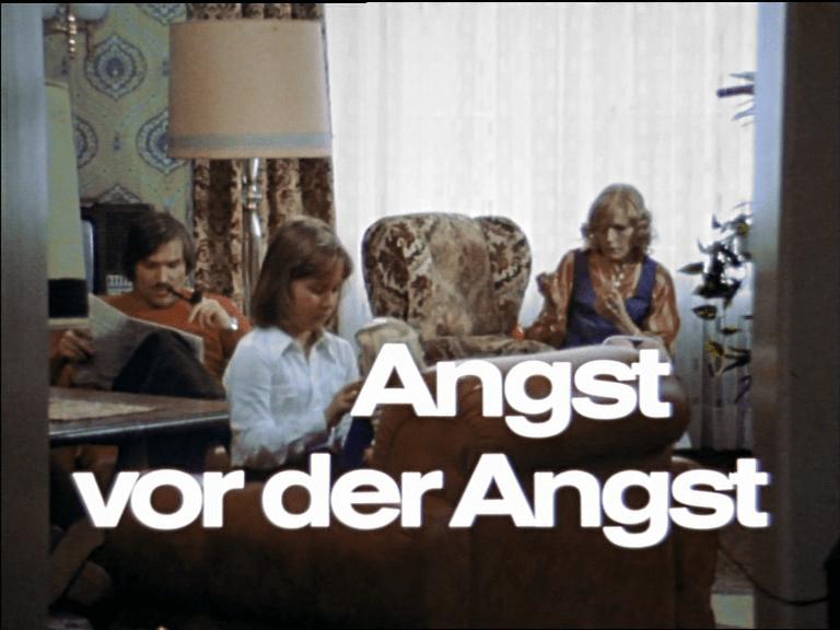 Angst vor der Angst – Titelbild (Foto: Kinowelt/Arthaus)