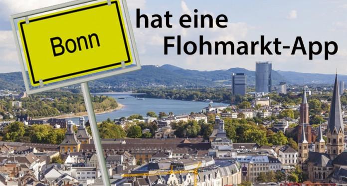 Bonn hat eine Flohmarkt-App