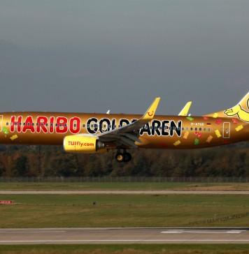 Haribo-Flugzeug