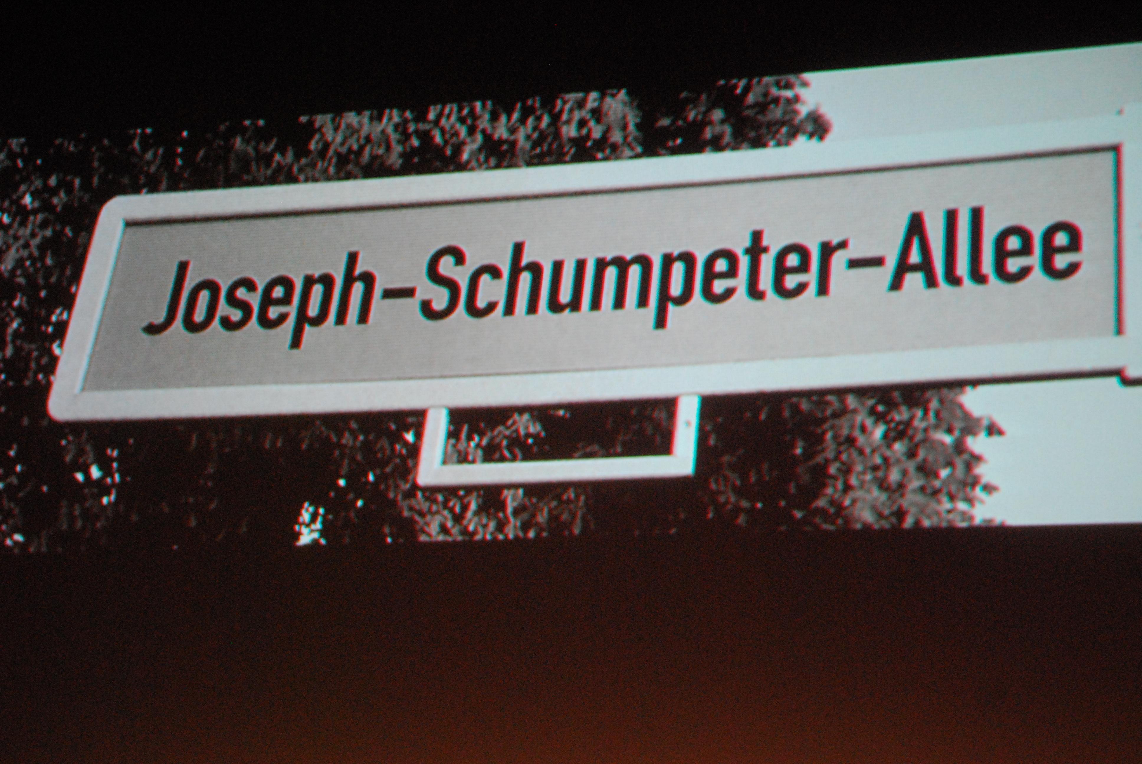 Mehr als die Schumpeter-Allee und den Schumpeter-Saal im Uni-Club hat Bonn nicht zu bieten - das muss sich ändern!