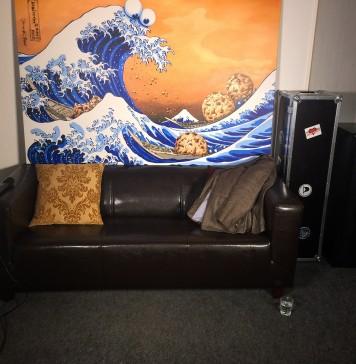 Leeres OB-Sofa