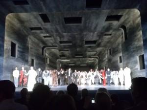 "Premierenapplaus bei ""Jérusalem"" in der Oper Bonn (c) Ansgar Skoda"