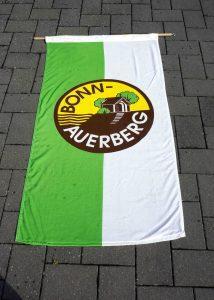 Die Fahne der Siedlergemeinschaft Bonn-Auerberg - Foto: W. Braun