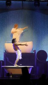 WET im GOP Bonn: Jutta Koch und Anton Belyakov auf der Bühne (Foto: Vaclav Demling)