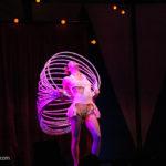 Hula-Hoop-Darbietung