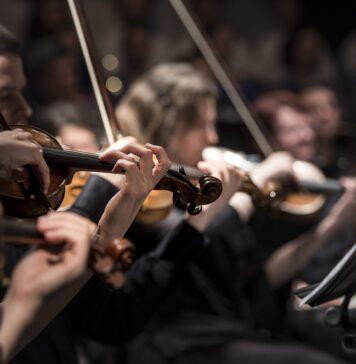 Klassische Musik, Orchester, Violine. Symbolbild CC0